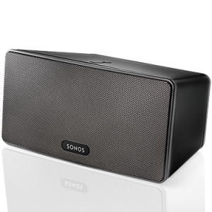 The Sonos wireless music system allows you to stream music anywhere in your home or office.